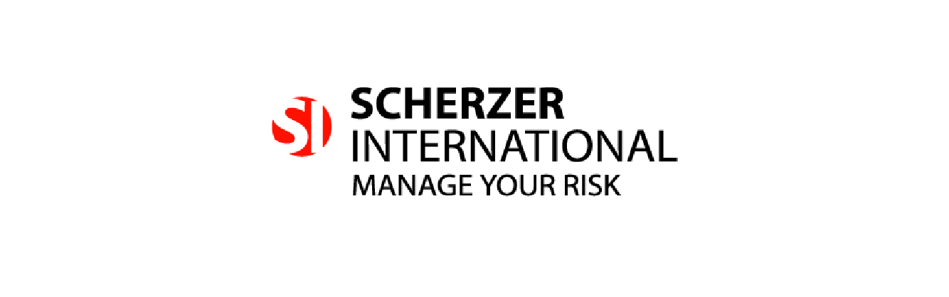 Scherzer International logo with tagline