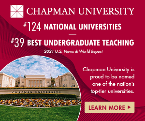 Chapman University image with tagline