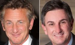 Headshots of Sean Penn and Mark Anderson