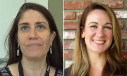 Headshots of Elizabeth Boyce and Christina Miller