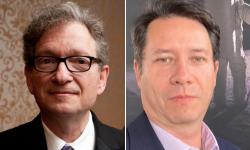 Headshots of Gabriel Lerner and Armando Varela
