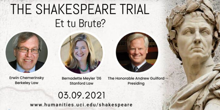 An image advertising the Shakespeare Trial
