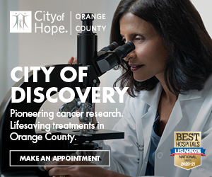 City of Hope ad image with tagline