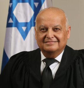 A headshot of Salim Joubran